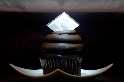 Dark Cupcake for the Photography Atelier 15 Exhibit at the Griffin Museum 2013
