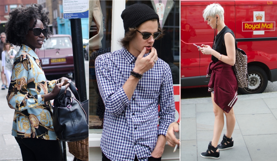 London Street Style for The Winchester Star, August 2014